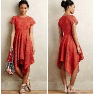 Anthropologie Maeve Prima Lace Dress Size 2